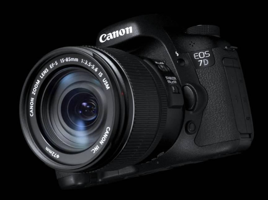 Aparatul Foto Canon 7D.