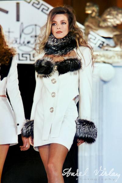 Fotografie Prezentare Moda Catalin Botezatu cu Fotomodelul Bianca Brad.