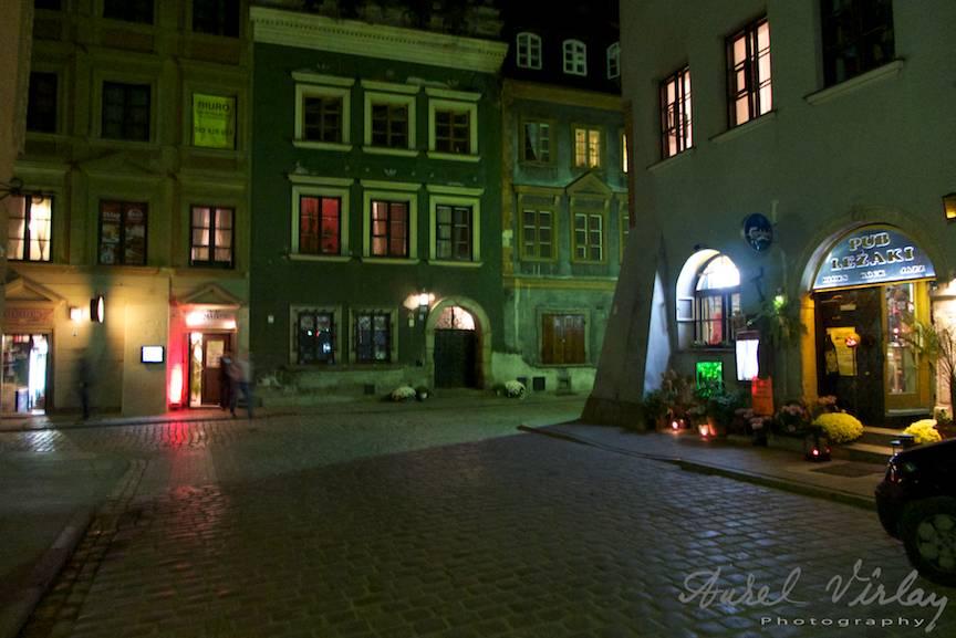 Frumusetea unui oras pe timp de noapte: Varsovia!