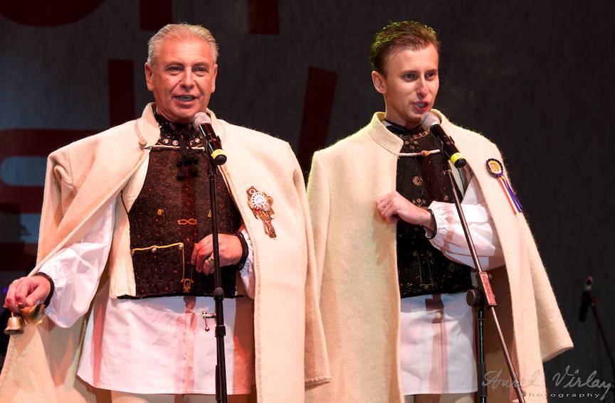Portret foto din concert Tudor si Nicolae Furdui Iancu din Alba Iulia.