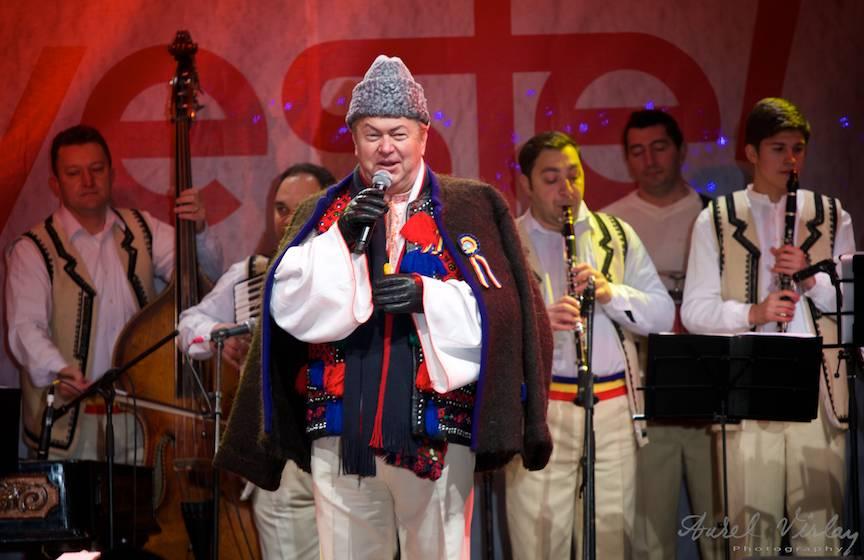 Fotografie din concert cu Gheorghe Turda.