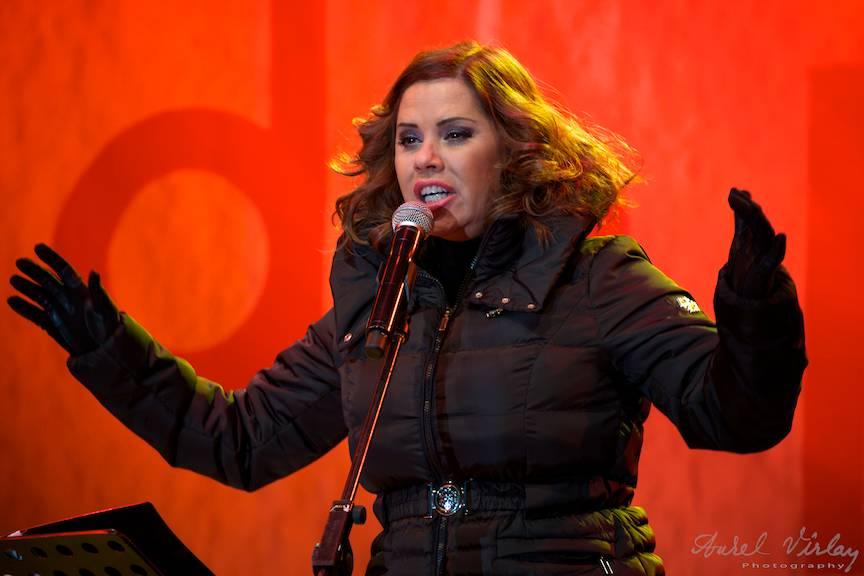 Monica Anghel in concert.