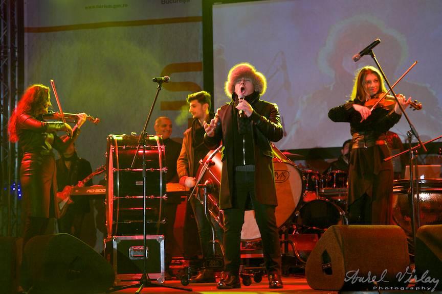 Fotografie din Concertul de Craciun cu Marcel Pavel.