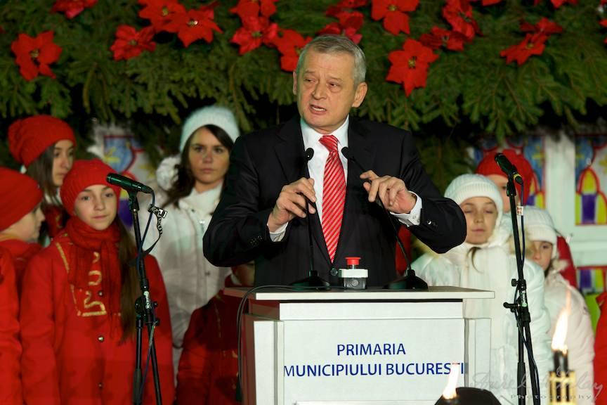 Primarul Sorin Oprescu este omul zilei.