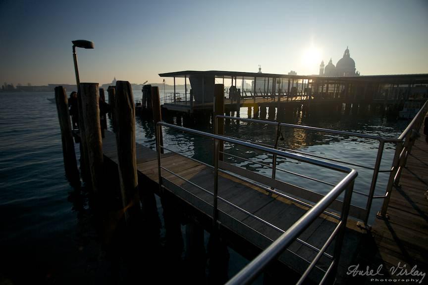 Apus de soare in Venetia.