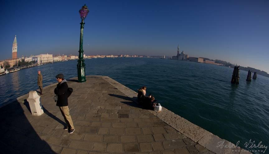 Peisaj fotojurnalistic panoramic cu FishEye.