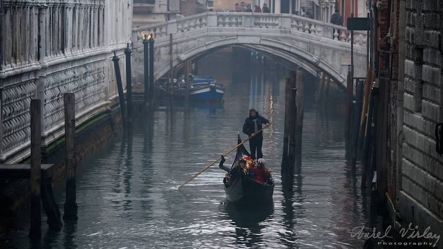 Venetia in luna Decembrie.