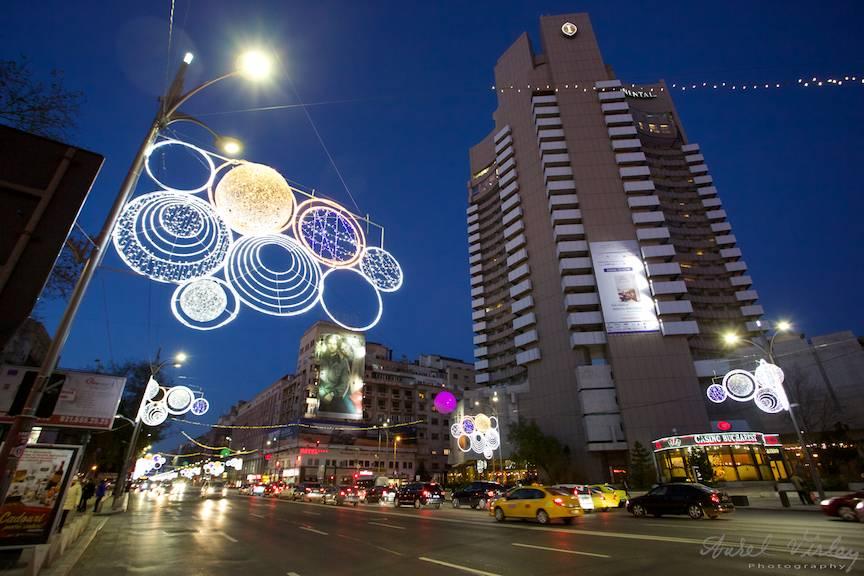 Luminile de sarbatoare ale Orasului Bucuresti.