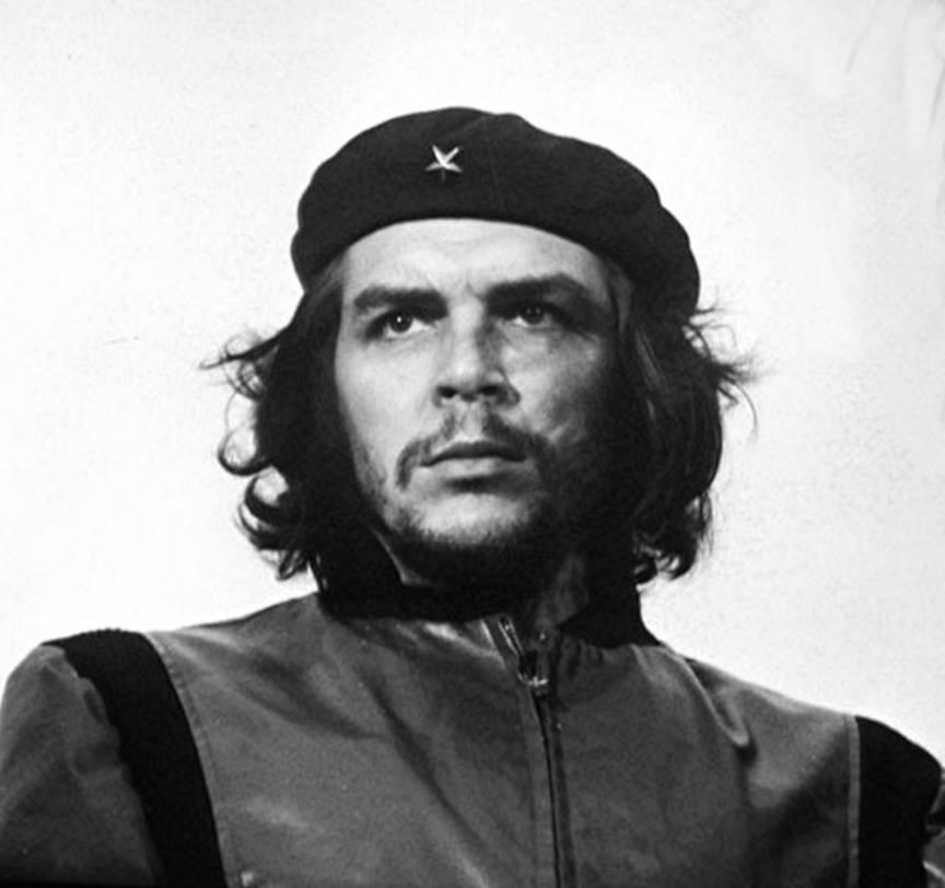 Portret fotografic emblematic Che Guevara, alias El Comandante.