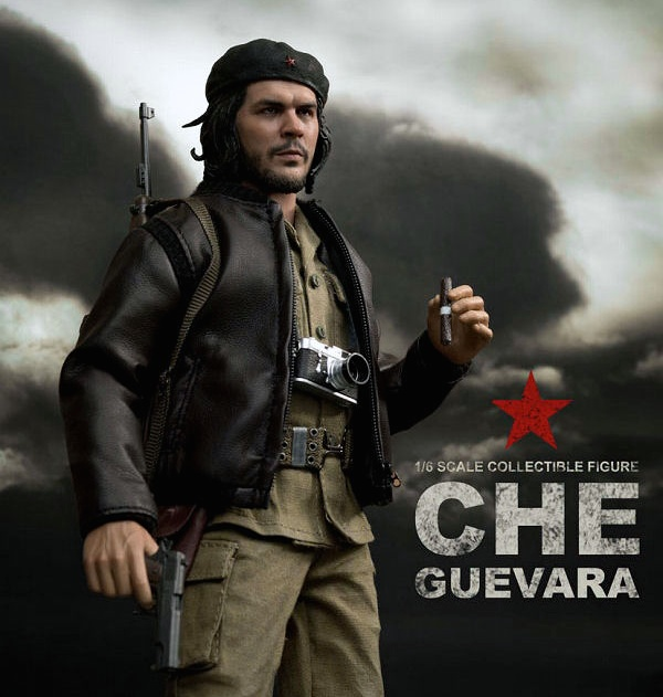 Che Guevara Guns cu aparat foto Leica si trabuc- Real Masterpiece Collectible Figure.