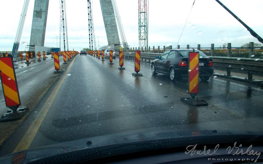 Un gol istoric se intinde peste lucrarile de modernizare Podul Agigea.