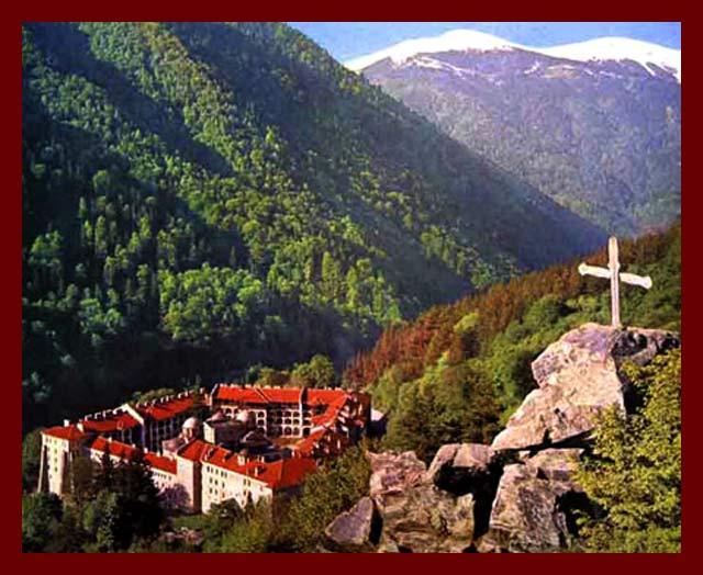 Manastire Rila Cruce locul-rugaciune-