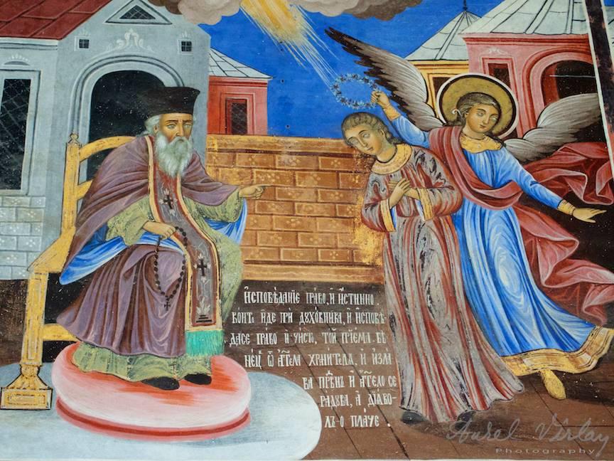 _Manastirea Rila Bulgaria Foto-Aurel-Virlan 08 cum ne spovedim curat la preot cu ingerul pazitor