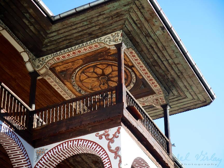 _Manastirea Rila Bulgaria Foto-Aurel-Virlan 28 cerdacul monahal de cu pictura pe tavan