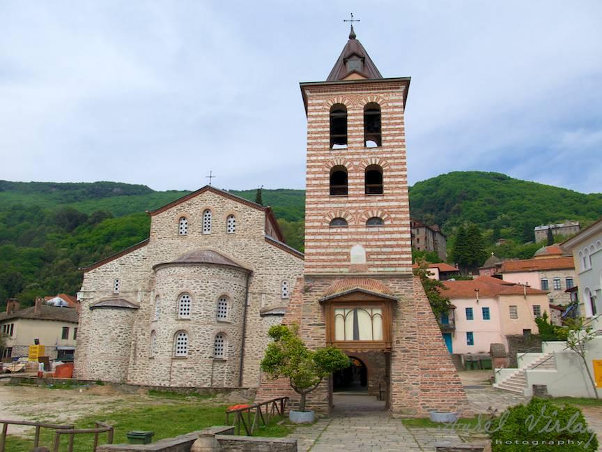 Biserica Protatos (prima de pe Athos) din centrul capitalei Careia.