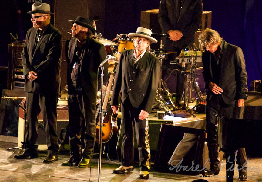 O seara minunata alaturi de un Bob Dylan renascut.