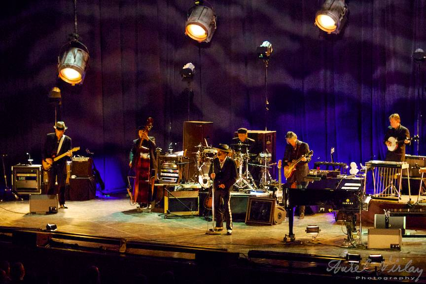 Bob Dylan concert Sala Palatului Bucuresti.