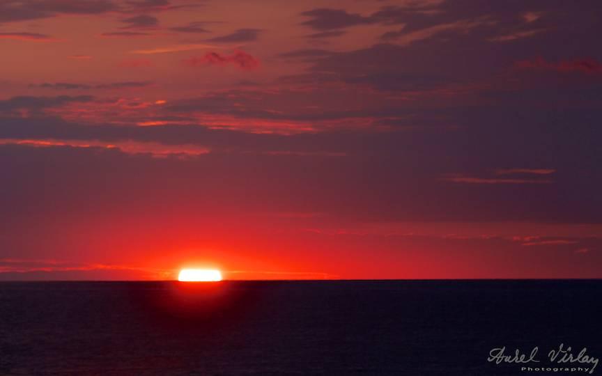 Fotografie in rasarit de soare cu dublorul de focala Canon Extender 2x.