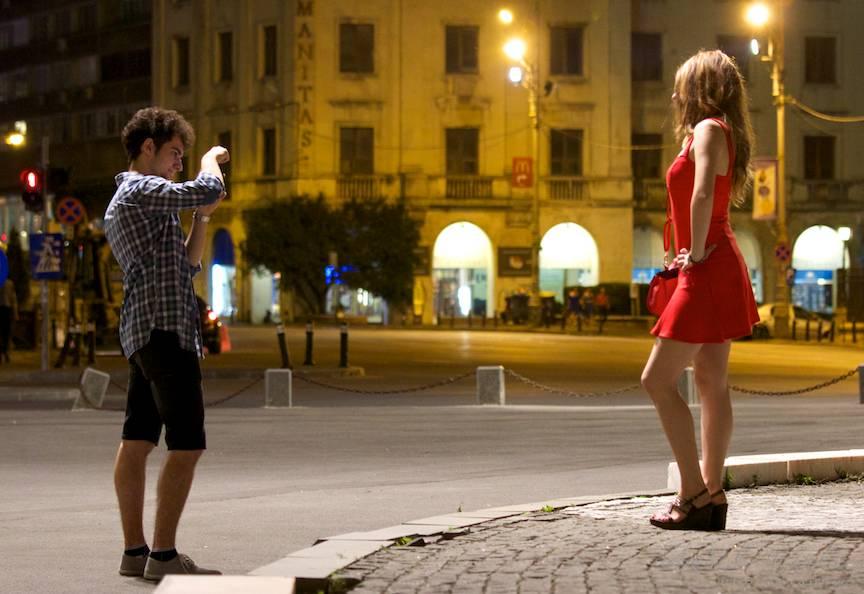 Fashion Photo Session in miez de noapte bucuresteana.