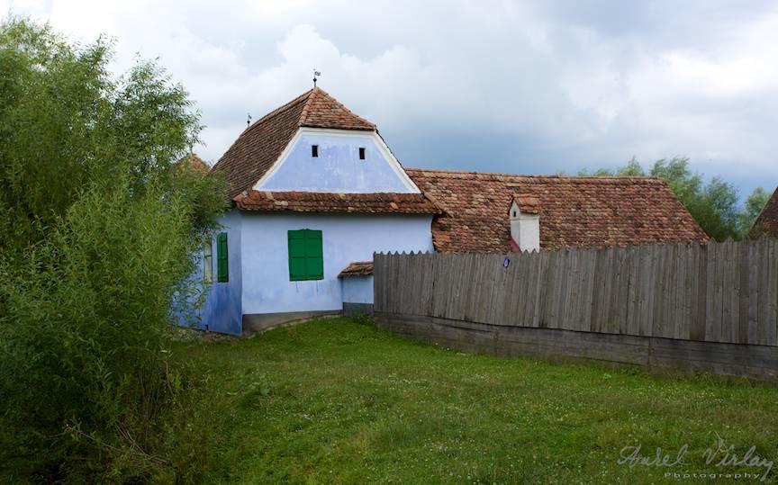 Casa printului Charles din Satul Viscri.