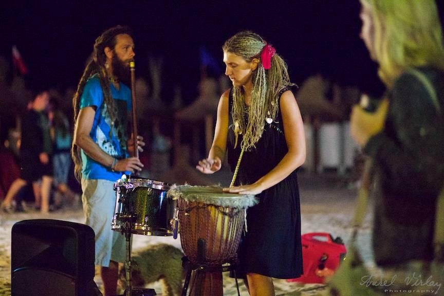 Drum'n Flute Roxana Zanga Daath Yug Vama-Veche Foto - AurelVirlan 02