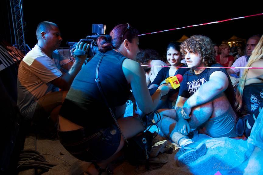 Folk You Vama Veche Fotografie - AurelVirlan 11 interviuri Tv in timpul concertului