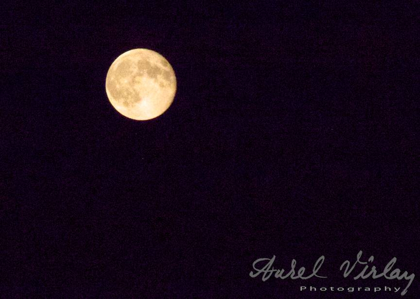 Cea mai mare Luna Plina a anului 2014.