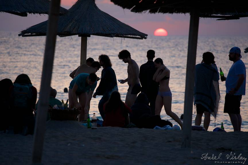 Impresie Rasarit de Soare - omagiu fotografic din Vama.