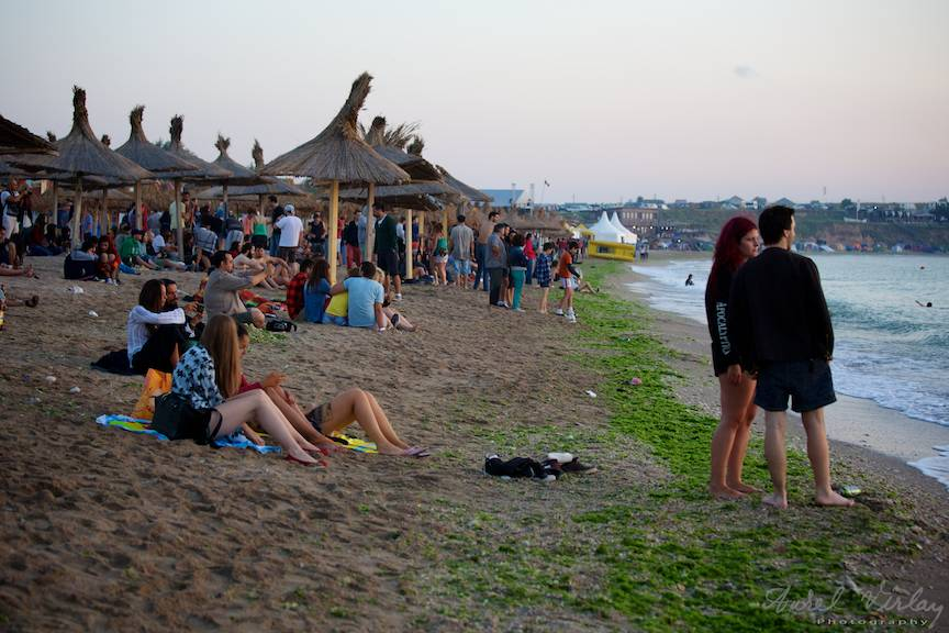 Plaja Vamei Vechi in Rasarit de Soare pe acordurile Bolero de la Stuf.