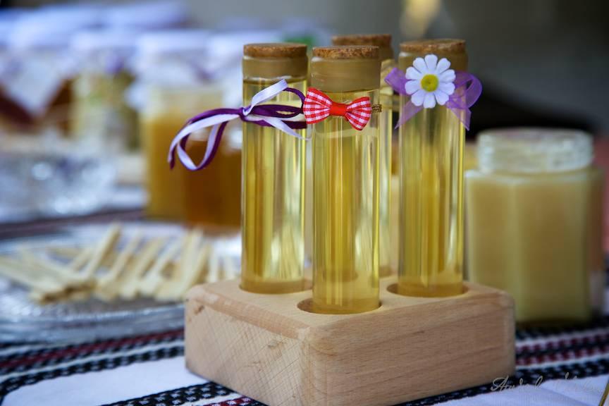 Detalii elegante cu gust de miere.