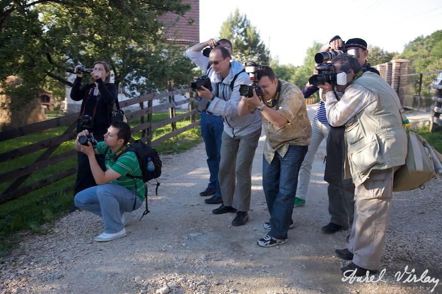 Fotografi la curs practic cu aparate foto DSRL