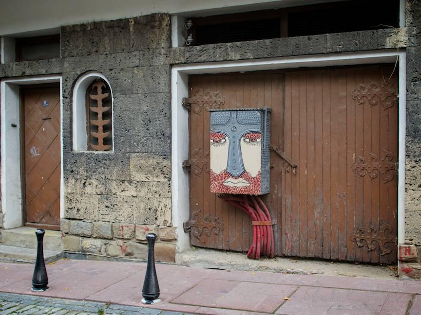 Excursie Velico-Tarnovo - Foto Aurel Virlan - 08 grafitti si strada