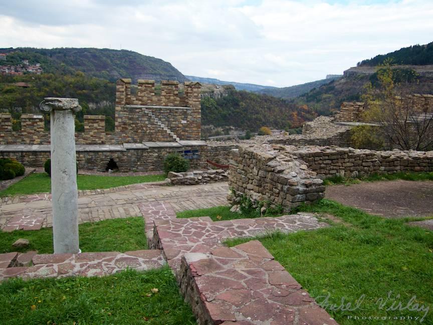 Excursie Velico-Tarnovo - Foto Aurel Virlan - 12 ruinele cetatii medievale