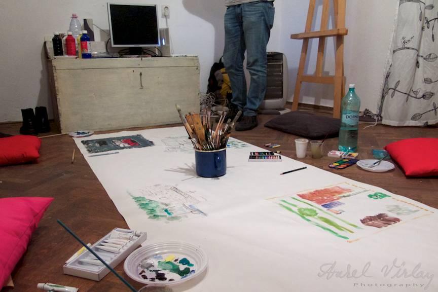 Terapie prin arta. Pictura, desen, fotografie.