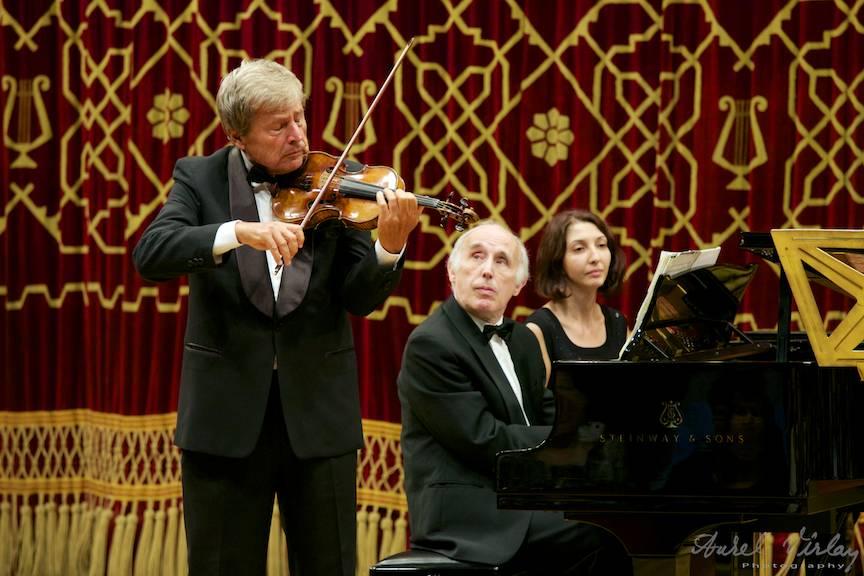 Violonistul Uto Ughi Seara Concert Ateneul Roman - foto AurelVirlan Emails-37
