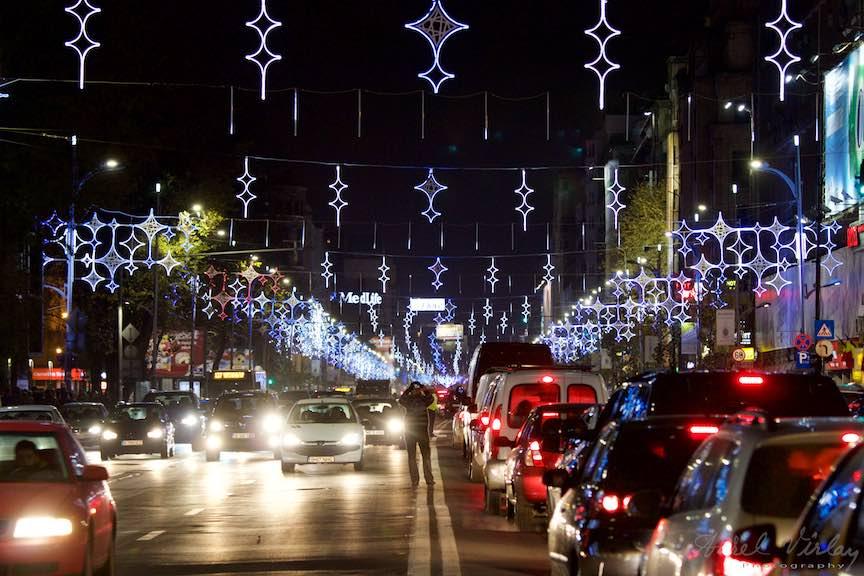Aprinderea Luminilor de Sarbatori Bucuresti - FotoAurelVirlan - Luminile Orasului Bucuresti in asteptarea Craciunului si a Anului Nou!