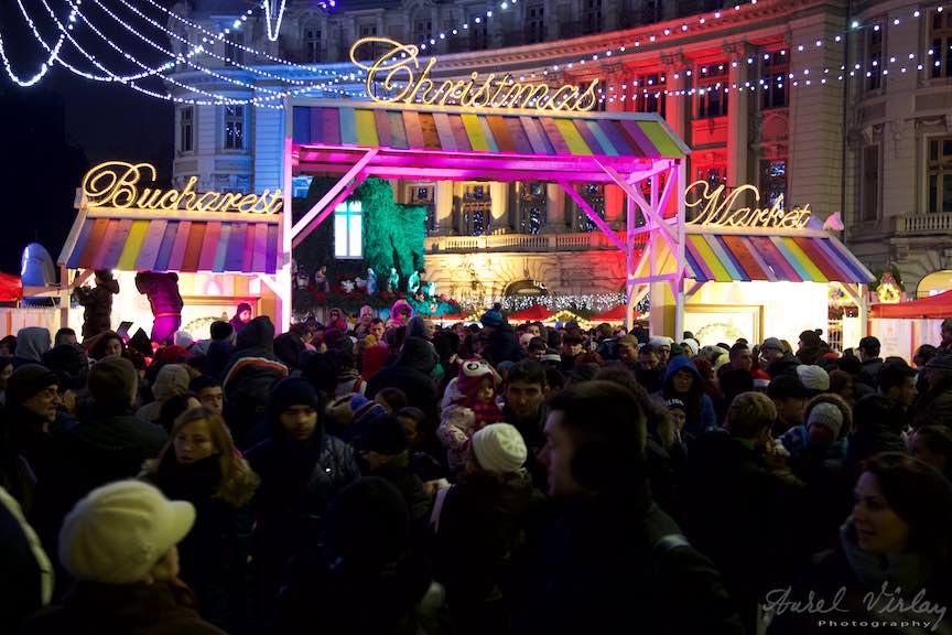 Aprinderea Luminilor de Sarbatori Bucuresti - FotoAurelVirlan - Bucharest Christmas Market - a treia editie.