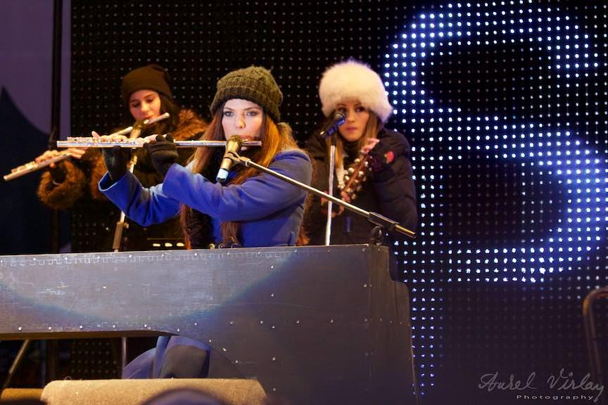 Bucharest Christmas Market 2014 - FotoAurelVirlan Paula Seling Band.