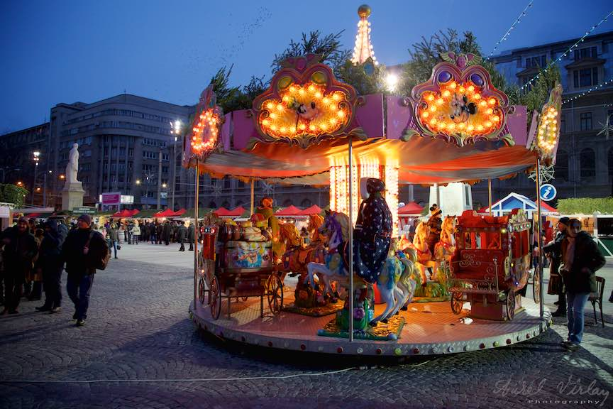 Bucharest Christmas Market Piata Universitatii Bucuresti - Instantanee FotoAurelVirlan - 2
