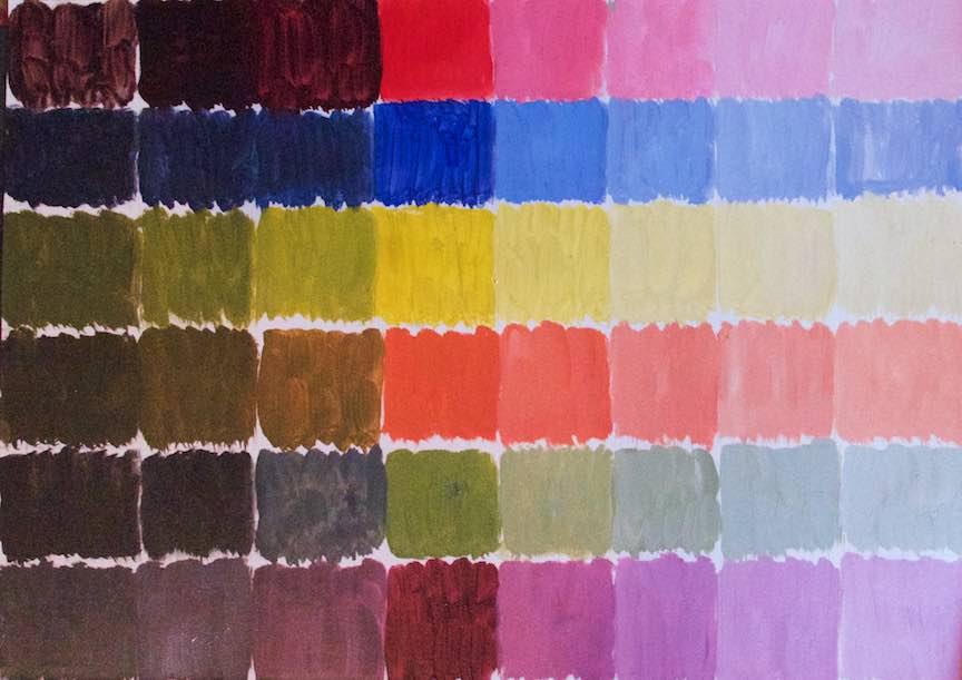 Curs Pictura CasaArte - Foto Web-Size-  Culorile primare si culori secundare in pictura.