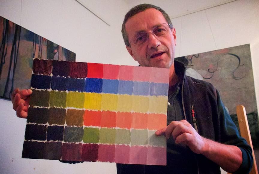 Curs Pictura CasaArte - Foto Web-Size-  Tema de pictura a unui fotograf entuziast.