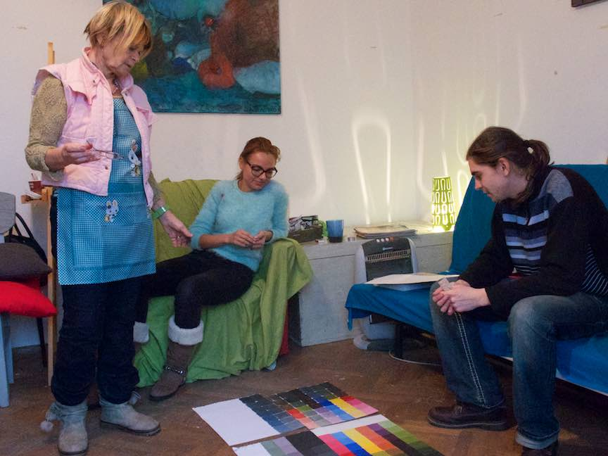 Curs Pictura CasaArte - Foto Web-Size-  Analiza dupa prima lectie de pictura.