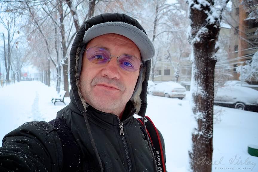 Fotografii ninsoare iarna Bucuresti - fotojurnalism Aurel Virlan - Emails 37a