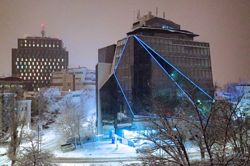 Fotografii ninsoare iarna Bucuresti - fotojurnalism Aurel Virlan - Emails 46