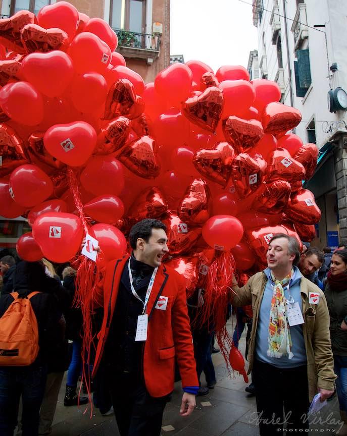 Valentine's Day in Venetia - Ziua Indragostitilor cu WikiLove!