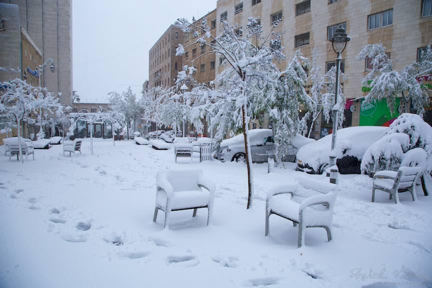 Zapada strada Jerusalem iarna Israel- Fotografie Aurel Virlan - EmailS 6