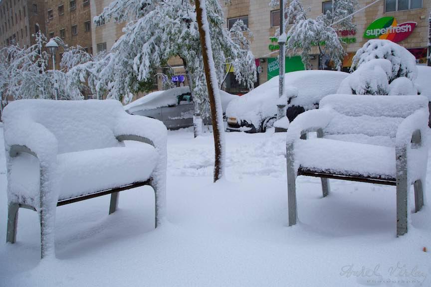 Zapada strada Jerusalem iarna Israel- Fotografie Aurel Virlan - EmailS 7