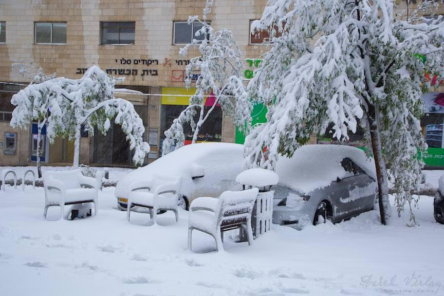 Zapada strada Jerusalem iarna Israel- Fotografie Aurel Virlan - EmailS 8
