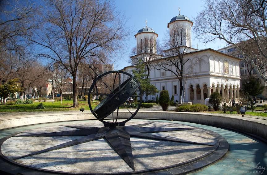 Biserica Sfantul Gheorghe Nou - Constantin Brancoveanu la Km-0 Bucuresti