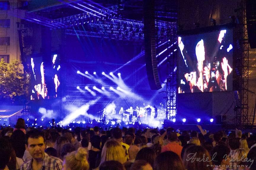 Galerie foto Concert Robbie Williams Bucuresti - Piata Constitutiei. Fotografii cu Canon PowerShot G16.